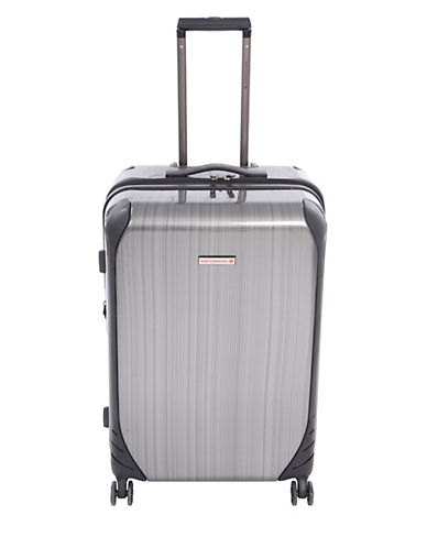 Image of Air Canada Aurevoir 21-Inch Double Four Wheels Suitcase-CHARCOAL-21