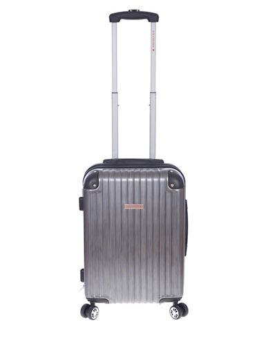 Air Canada Allure Hardside 21-Inch Carry-On Spinner-GREY-21
