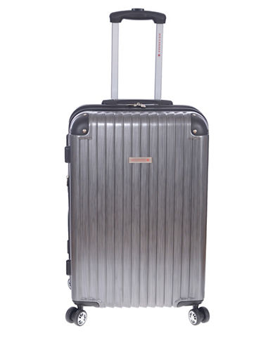 Air Canada Allure Hardside 25-Inch Carry-On Spinner-GREY-24