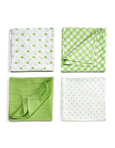 Gund Dotterswort 4-Pack Swaddle Blanket-DOTTERSWORTH-One Size