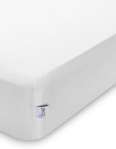 Gund Deluxe Crib Sheet-WHITE-One Size
