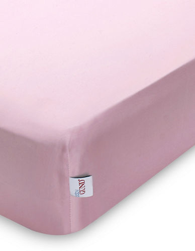 Gund Deluxe Crib Sheet-SPUNKY PINK-One Size