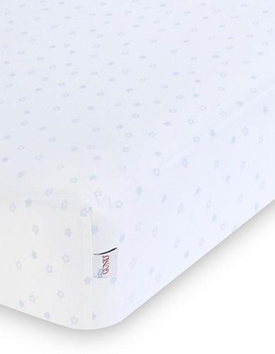 Gund Starry Night Deluxe Crib Sheet-PEEK A BLUE STARRY NIGHT-One Size