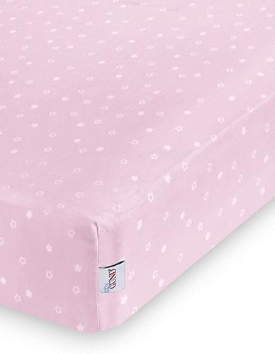 Gund Twinkle Twinkle Deluxe Crib Sheet-POPSICLE PINK TWINKLE-One Size