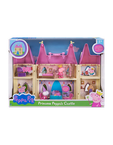 Peppa Pig Pig Princess Castle Playset-MULTI-One Size