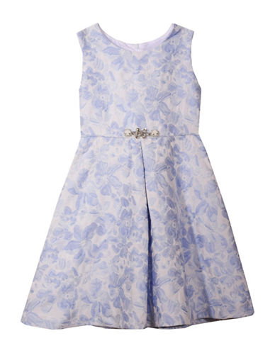 Tommy Hilfiger Two-Piece Printed Denim Dress Set-ASSORTED-24 Months