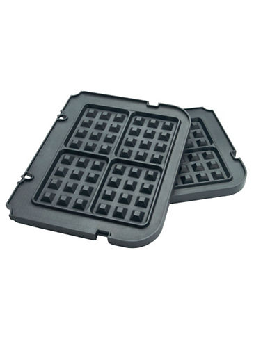 Cuisinart Griddler Waffle Plates-BLACK-One Size