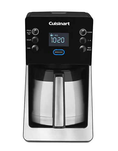 Cuisinart PerfecTemp 12 Cup Thermal Programmable Coffee Maker-SILVER/BLACK-One Size 85934774_SILVER/BLACK_One Size