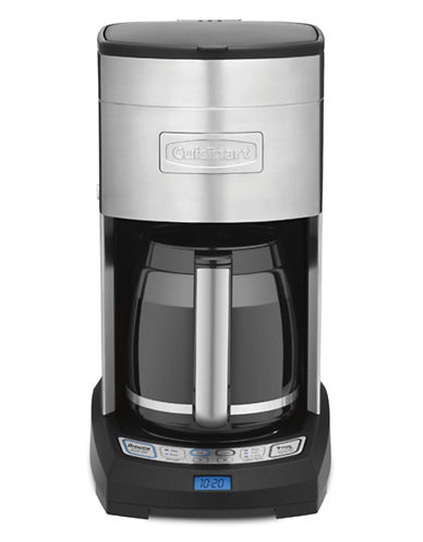 Cuisinart 12-Cup Programmable Coffeemaker-SILVER-One Size