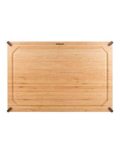 Cuisinart 12 Inchx18 Inch Non-Slip Bamboo Cutting Board-BROWN-One Size