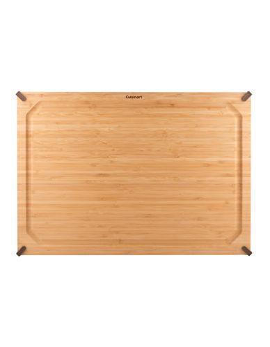 Cuisinart 14 Inchx20 Inch Non-Slip Bamboo Cutting Board-BROWN-One Size