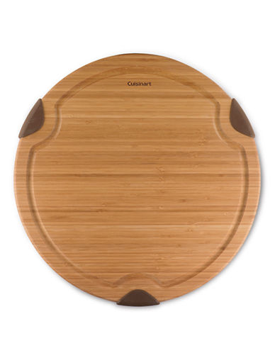 Cuisinart 14in x 14in Round Cutting Board-BROWN-One Size