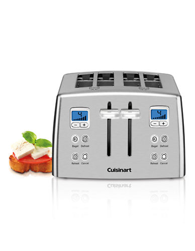 Cuisinart 4-Slice Countdown Mechanical Toaster-SILVER-One Size