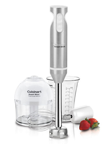 Cuisinart Smart Stick Hand Blender with Chopper-SILVER-One Size