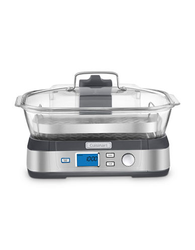 Cuisinart CookFresh Digital Glass Steamer-STAINLESS STEEL-One Size