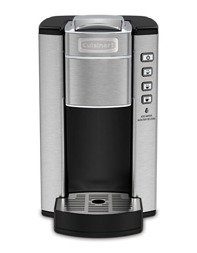 Cuisinart Compact Single Serve Coffee Maker-STAINLESS STEEL-One Size