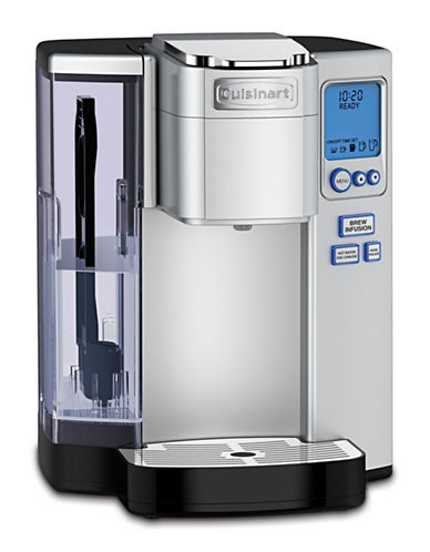 Cuisinart Premium Single Serve Brewer-STAINLESS STEEL-One Size