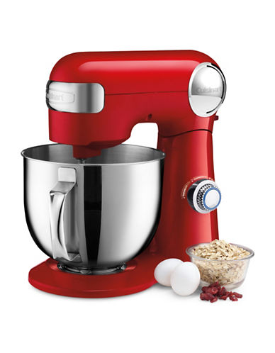 Cuisinart Precision Master 5.5-Quart Stand Mixer-RED-One Size