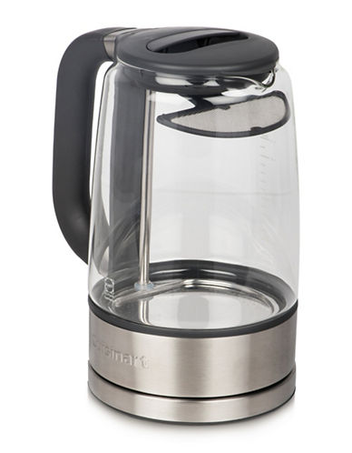Cuisinart 1.7L ViewPro Cordless Glass Kettle-GLASS/STAINLESS STEEL-One Size