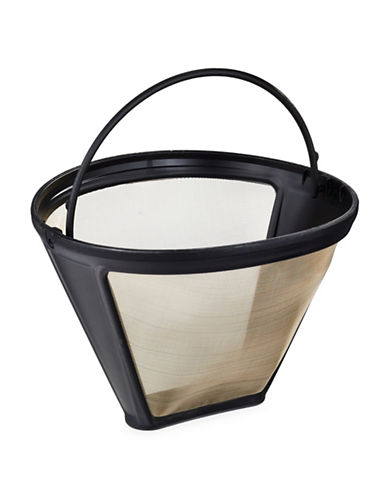 Cuisinart Goldtone Coffee Filter-BLACK-One Size