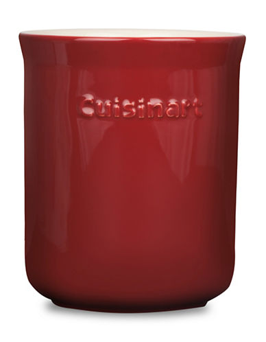 Cuisinart Ceramic Kitchen Utensil Holder-RED-One Size