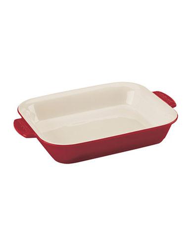 Cuisinart 2qt Rectangular Ceramic Baker-RED-One Size