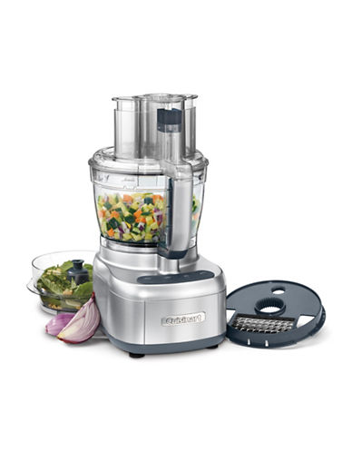 Cuisinart Elemental 13-Cup Food Processor with Dicing Kit-STAINLESS STEEL-One Size