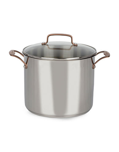 Cuisinart Metal Expressions 12 Qt. Stock Pot-STAINLESS STEEL-12