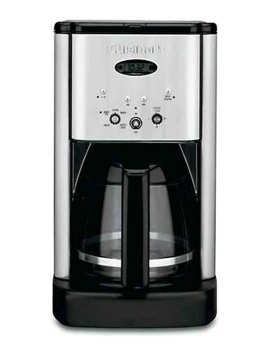 Cuisinart Brew Central 12 Cup Programmable Coffeemaker-BRUSHED STAINLESS STEEL-One Size