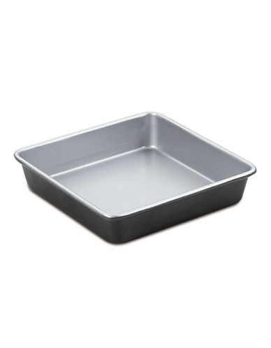Cuisinart Square Cake Pan-SILVER/BLACK-One Size