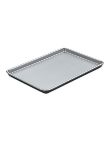 Cuisinart Baking Sheet Jelly Roll Pan 15 Inch-SILVER/BLACK-One Size