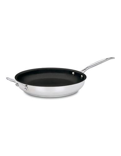 Cuisinart 24 cm Stainless Steel Non Stick Skillet-BLACK-30cm
