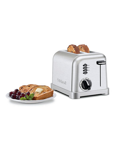Cuisinart Metal Classic 2 Slice Toaster-SILVER-One Size