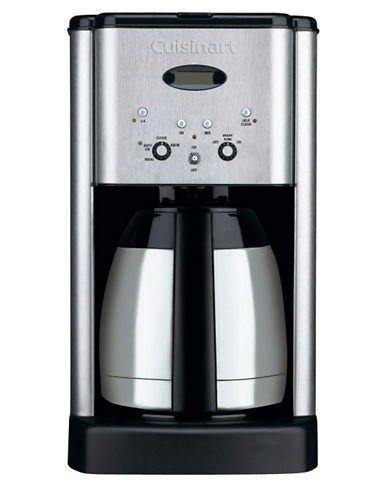 Cuisinart Brew Central Thermal 10 Cup Programmable Coffeemaker-BRUSHED STAINLESS STEEL-One Size