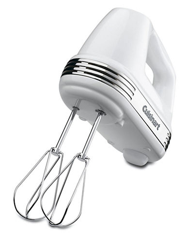 Cuisinart Power Advantage 5 Speed Hand Mixer-WHITE-One Size