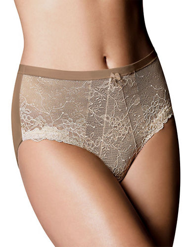 Wonderbra Chantilly Lace Brief-RUST/COPPER-X-Large