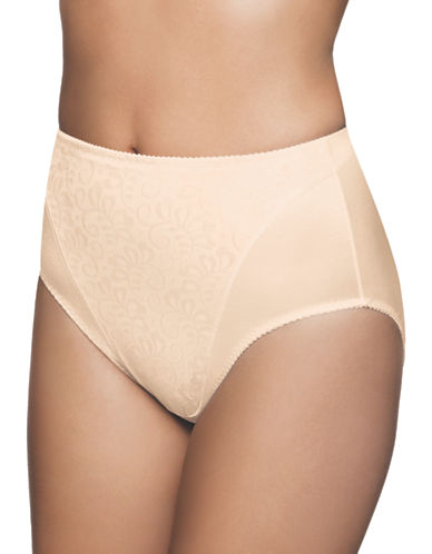 Wonderbra Stretch High Cut Panty-BEIGE-Medium