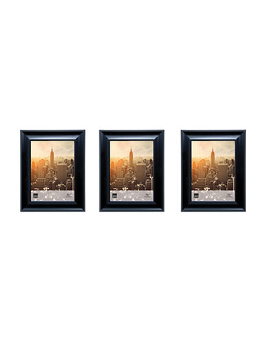Home Outfitters Three-Pack 5 x 7 Gallery Frames-BLACK-One Size