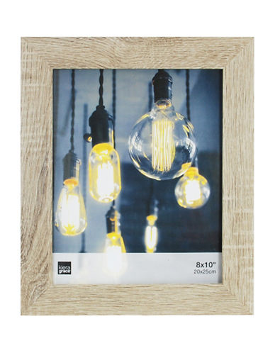 Home Outfitters Loft Driftwood-Look 8 X 10 Frame-NATURAL-One Size