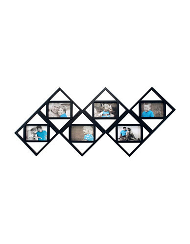 Kiera Grace Tetragon Six-Image Collage Frame-BLACK-One Size