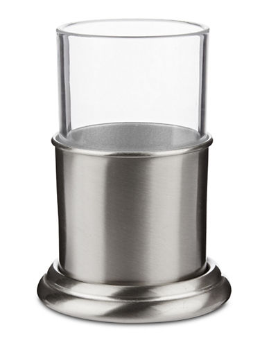 Springshome Palace Centric Tumbler and Stand-SILVER-One Size