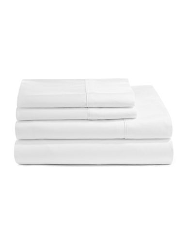 Sleepology Rayon From Bamboo Sheet Set-WHITE-Double
