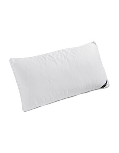 Serta Comfort Profiles Fibre Fill Soft Support Pillow-WHITE-King