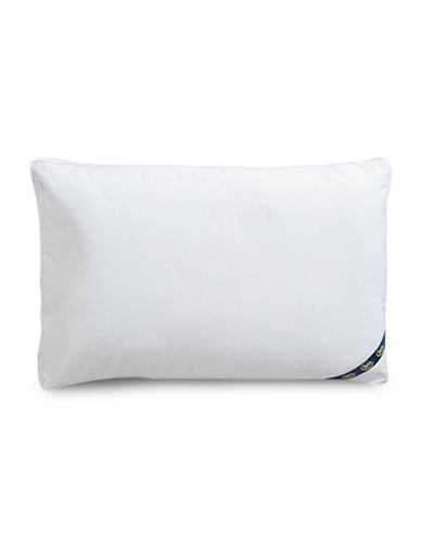 Serta Comfort Profiles Fibre Fill Medium Support Pillow-WHITE-Standard