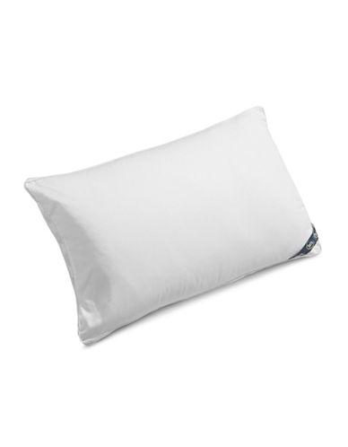 Serta Comfort Profiles Fibre Fill Medium Support Pillow-WHITE-King