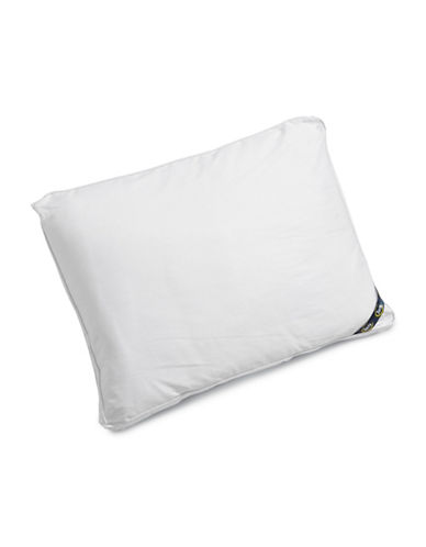 Serta Comfort Profiles Fibre Fill Firm Support Pillow-WHITE-Standard