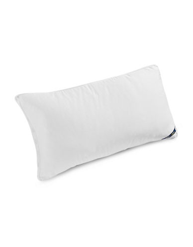 Serta Comfort Profiles Fibre Fill Firm Support Pillow-WHITE-King
