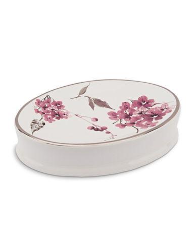 Springshome Charisma Botanique Soap Dish-WHITE/PINK-One Size