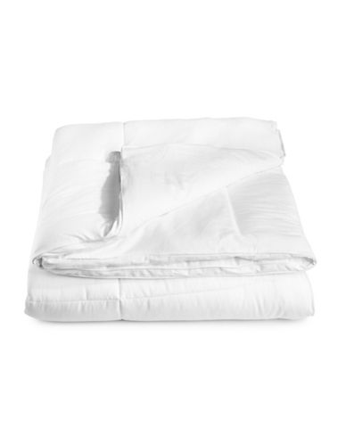 Distinctly Home Down Alternative Medium Weight Duvet-WHITE-Full/Queen