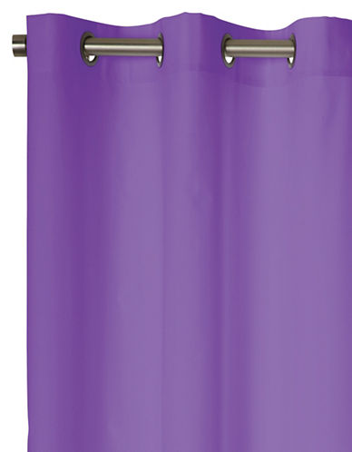 Dh Two-Pack Blackout Window Panel Set-PURPLE-63 inches